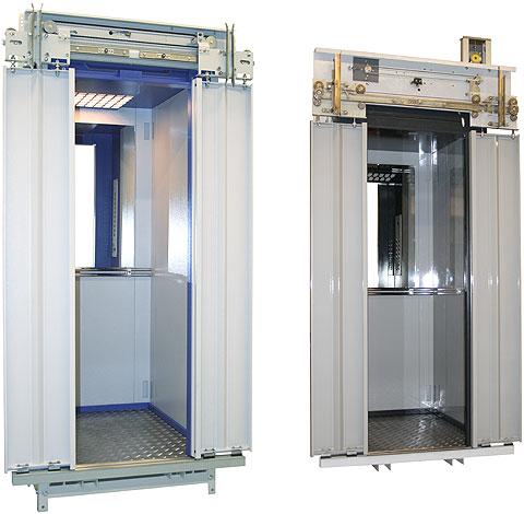 Купе модульного типа для лифтов грузоподъемностью 320...400 кг.